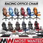 Office Chair Leather Recliner Computer Racing Gaming Swivel Adjustable Support