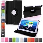 360 Rotating Leather Smart Case Cover with Stand For Samsung Galaxy Tab Tablet