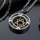 AgentX 5 Designs Star Pendant Men's Stylish Jewellery Necklace Chain + Gift Bag