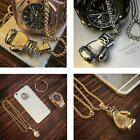 Fashion Unisex Men Stainless Steel Fist Pendant Necklace Chain Silver/Gold PHNG