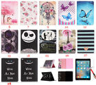 Folio Leather Wallet Case Rubber Skin Cards Stand Cover For Apple iPad Series