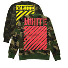 Military Off White C/O GD Crew Neck Camouflage Sweats Hoodies Coat
