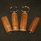 Shedua Pill or Toothpick Keychain in Chrome or 10k Gold Plating