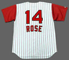 PETE ROSE Cincinnati Reds 1960's Majestic Throwback Home Baseball Jersey on Ebay