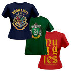 Harry Potter Womens T-Shirt Muggles Crew Neck Hogwarts Slytherin Tee Shirt