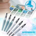 Cool Water Brush Pen Ink Water Color Calligraphy for Beginner Painting Tips
