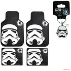 New Star Wars Storm Trooper Car Truck Rubber Floor Mats Front / Rear Made in USA $56.95 USD