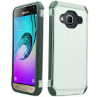 For Samsung Galaxy j3 IMPACT HYBRID Plating Case Skin Phone Cover + Screen Guard