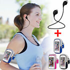 Wireless Bluetooth 4.1 Stereo Headset+Sports Gym Event Armband for Cell Phone