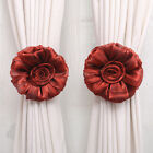 Comely Flower Curtain Tie Backs Tieback Holder Voile Drape Panel Decorative