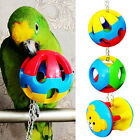 Pet Bird Bites Toy Parrot Chew Ball Swing Cage Hanging Cockatiel 2#A