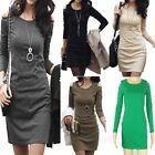 Beaded Winter Cocktail 2015 Bodycon Fitted Elegant Casual Dress sz S