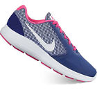 Nike REVOLUTION 3 Womens Purple White Pink Laced Comfort Athletic Sneakers Shoes