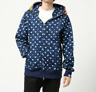 A BATHING APE ABC DOT TIGER FULL ZIP HOODIE Mens BAPE Original Jacket From Japan