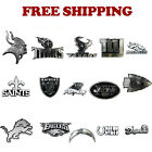 Brand New NFL Chrome 3 D Sticker Decal Emblem Car Truck SUV Made in USA $8.49 USD on eBay