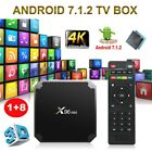 X96mini Android 7.1.2 Smart TV BOX 4K Latest S905W Quad Core 16GB HD WIFI Media