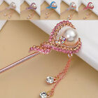 Hot New Fashion Bridal Women Lady Pearl Crystal Wedding Hair Pin Accessories