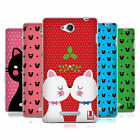 HEAD CASE DESIGNS CHRISTMAS CATS SOFT GEL CASE FOR SONY PHONES 3