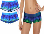 Women's Low Cut Volleyball Spandex Shorts Yoga Workout Wear Stretchy Running