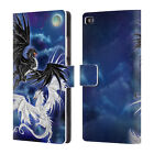 OFFICIAL RUTH THOMPSON DRAGONS 3 LEATHER BOOK WALLET CASE FOR HUAWEI PHONES