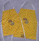 Childrens Yellow Bob the Builder Apron (Age 4 - 6 or 6 - 8 years)