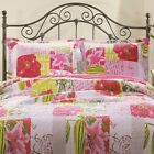 Best Greenland Home Home Fashion Pinks - Greenland Home Fashions Love Letters Cotton Reversible Quilt Review
