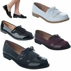 LADIES WOMENS NEW CLASSIC FRINGE LOAFERS FLAT OFFICE SHOES PUMPS BROGUES SIZE