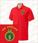 HMS ANTELOPE Embroidered Polo Shirts