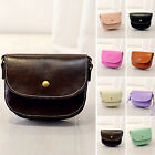 Fashion Womens Candy Color PU Leather Shoulder Messenger Crossbody Bag Purse New