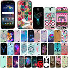 For ZTE Grand X 3 X3 Z959 Warp 7 N9519 Various Pattern TPU SILICONE Case Cover