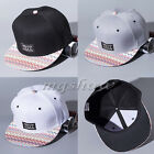 NEW 2016 Fashion Unisex Men's Snapback Adjustable Baseball Cap Bboy Hip-op Hats
