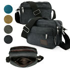 Men's Vintage Retro Canvas Schoolbag Satchel Shoulder Messenger Bag Laptop Bags