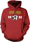 England Soccer Ball Flag - English Nationality Pride Hoodie Pullover