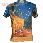VINCENT VAN GOGH Cafe Terrace at Night T SHIRT MENS FINE ART PRINT UNISEX TEE *