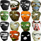 Skull Motorcycle Snowmobile Ski Painball Jeep Costume Look Bikers Face Mask Lot