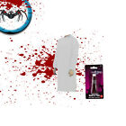 HALLOWEEN Fancy Dress Costume Disposable Gown with Fake Blood