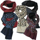 Warrior Viscose Micro Fibre Fringed Retro Mod Scarves