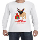 Merry Christmas 2016 from my English Mastif Dog - Happy Holidays - Men's T-shirt