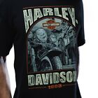 HARLEY DAVIDSON Mens T Shirt HISTORIC STEEL Motorcycle Biker Vtg $40