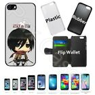 Внешний вид - For Apple iPhone 6 / 7 Plus+Samsung Galaxy S6/S7+STYLUS- SNK Chibi Mikasa Case
