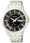 Citizen Two Tone Black Dial Men's Watch BF2018-52E