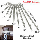 "Modern Stainless Steel T Bar Handles Kitchen Cabinet Pull Drawer Knob New 2""~15"""