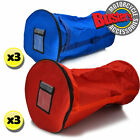 New Rotax TKM Heavy Duty Kart Wheel Karting Tyre Bag Three Pack Red Blue