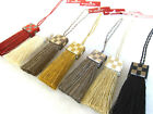 Gallery key tassel 9cm Bag gift keyring decoration fabric sewing trim by Houles
