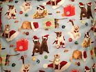Unique Christmas Cats Pillow Holiday Kittens Decorative Pillows Cat Lovers Gift