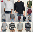 NWT Abercrombie & Fitch By Hollister GRAPHIC LONG SLEEVE TEE af new