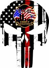 Thin Red Line Firefighter - Fallen Heroes 9/11 Decal - Various sizes Free Ship