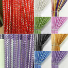 1M × 2M String Window Sparkle Door Curtain Net Panel Fly Room Divider Screen UK