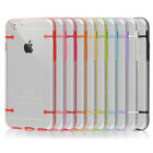 Clear TPU Rubber Thin Hard Luminous Case Cover Skin For iPhone 6/6s Snap On