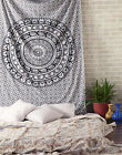 Indian Mandala Tapestry Ombre Mandala Bedsheet Psychedelic Hippy Bed Decor Throw